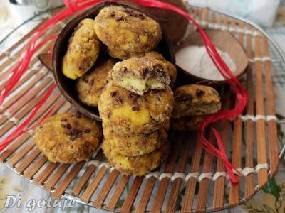 Marmurkowe ciastka z mąki kokosowej (bezglutenowe, dla diabetyków)