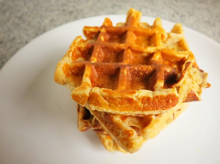 Waffles de Quark