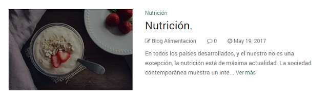 Nutrición.