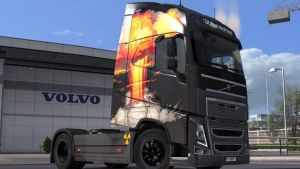 Volvo 2012 Mushroom Cloud Skin