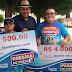 Paraíba de Prêmios realiza entrega de prêmio de R$ 4 mil na cidade de Pombal; Confira