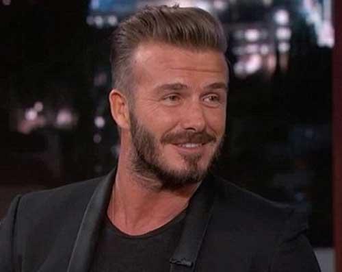 David Beckham Hairstyle Unix Area - David beckham hairstyle pompadour