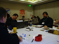 Saturday night HackMaster game at GaryCon V