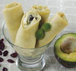 Resep Kue Avocado Roll