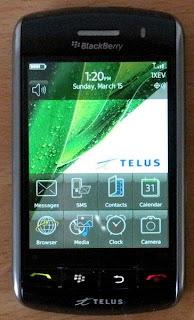 BlackBerry Handphone