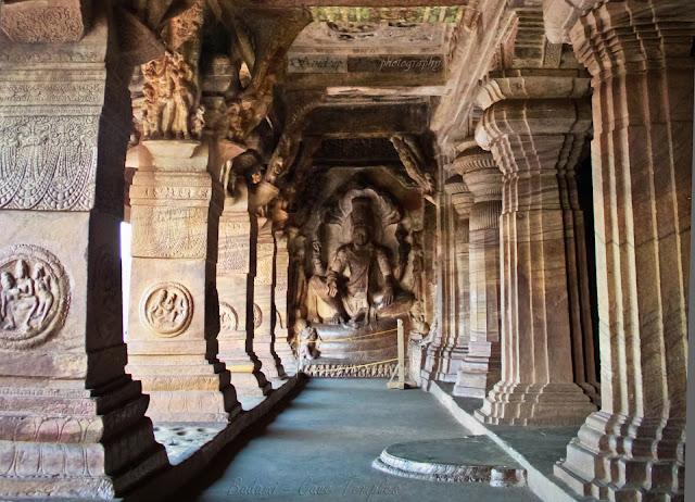Badami Cave temple - 6th century