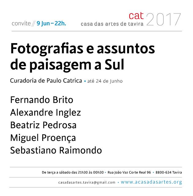 convite . fotografias e assuntos de paisagem Sul . exposição . fotografia