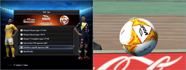 dac3e799a PES 2013 Balls Voit Nova Liga MX Apertura 2018