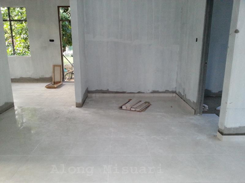 Rumah Idaman Pemasangan Tiles Ruang Dapur