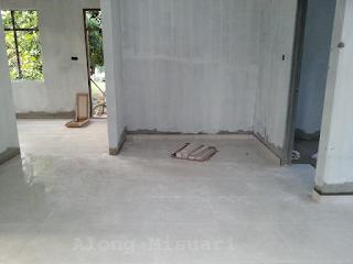 Rumah Idaman : Pemasangan Tiles Ruang Dapur