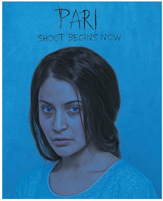 Pari new upcoming movie first look, Poster of Anushka Sharma download first look Poster, release date