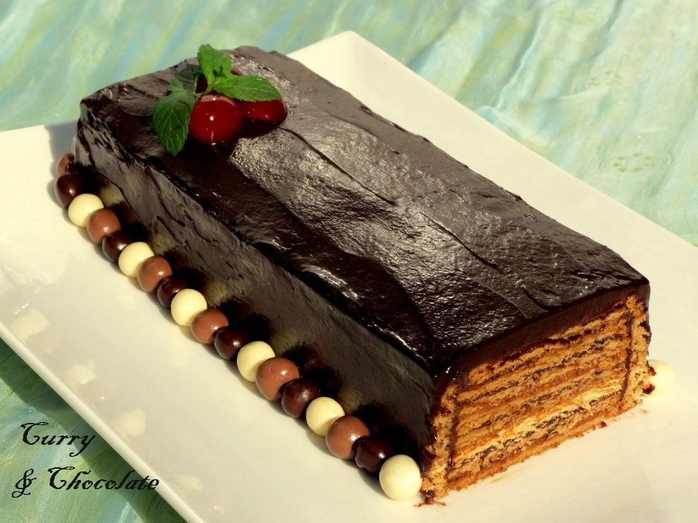 Cake De Chocolate Con Coco