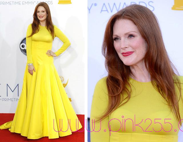 Джулианна Мур в желтом платье