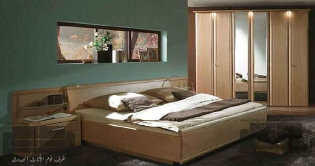 الوان غرف نوم كاملة، صور احدث غرف نوم،غرفة نوم خشبي فاتح, اجمل الوان اوض النوم, الوان غرف نوم, ديكورات غرف نوم