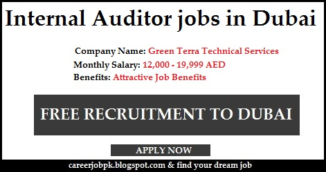 Internal Auditor jobs in Dubai