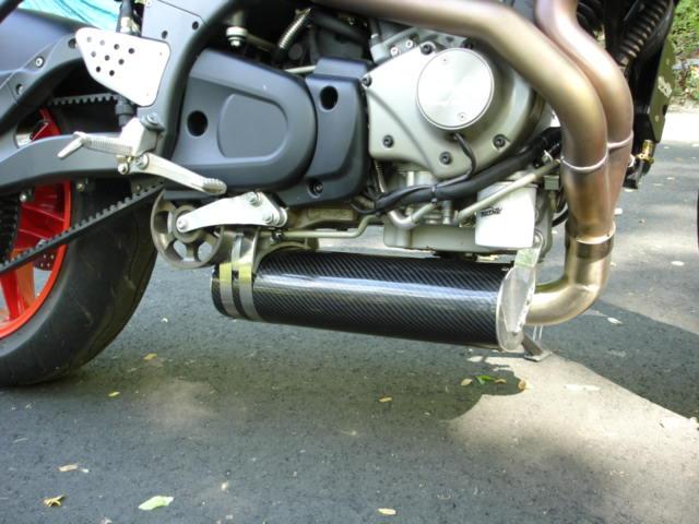 The ATGATT Rat: Buell Exhaust