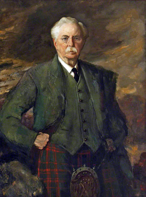 Somerled Macdonald, Self Portrait, Portraits of Painters, Fine arts, Portraits of painters blog, Paintings of Somerled Macdonald, Painter Somerled Macdonald