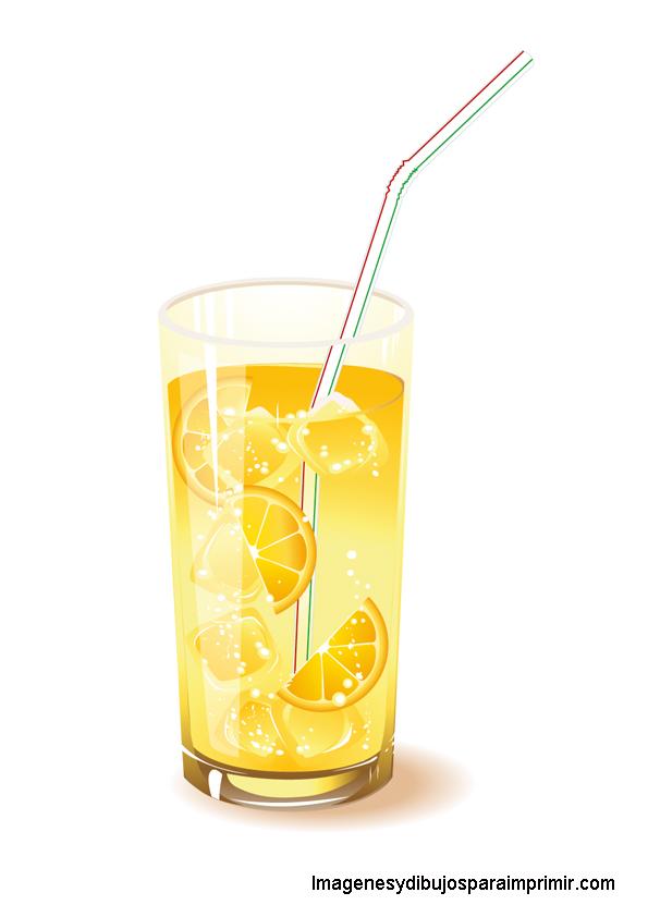 Bebidas frias para imprimir | Imagenes y dibujos para imprimir