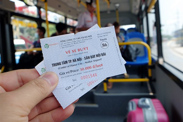 Kinh nghiệm du lịch bụi Hà Nội bằng xe buýt từ Nội Bài về Phố cổ