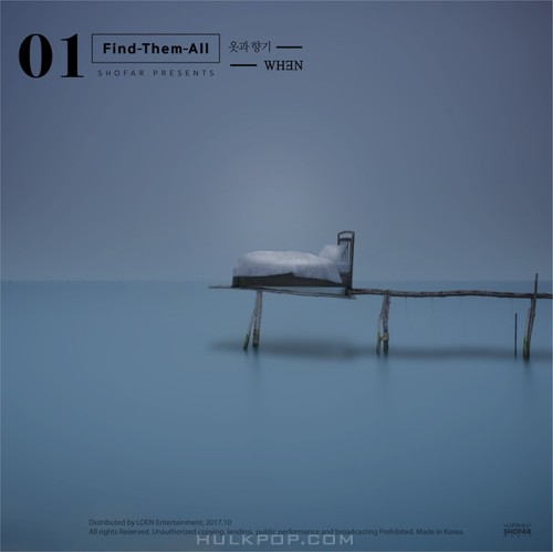 WH3N – Find Them All #1-WH3N – Single