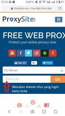 proxysite untuk membuka situs yang diblokir