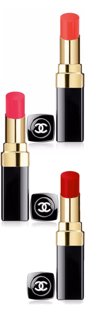 CHANEL Rouge Coco Shine 132 Rose Lipstick