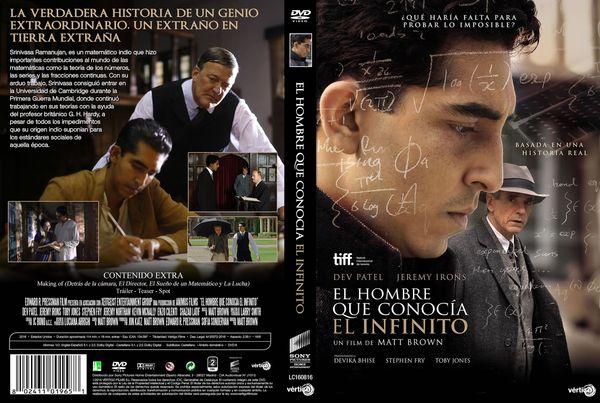 El Hombre Que Conocía El Infinito – Castellano, Inglés – DVD