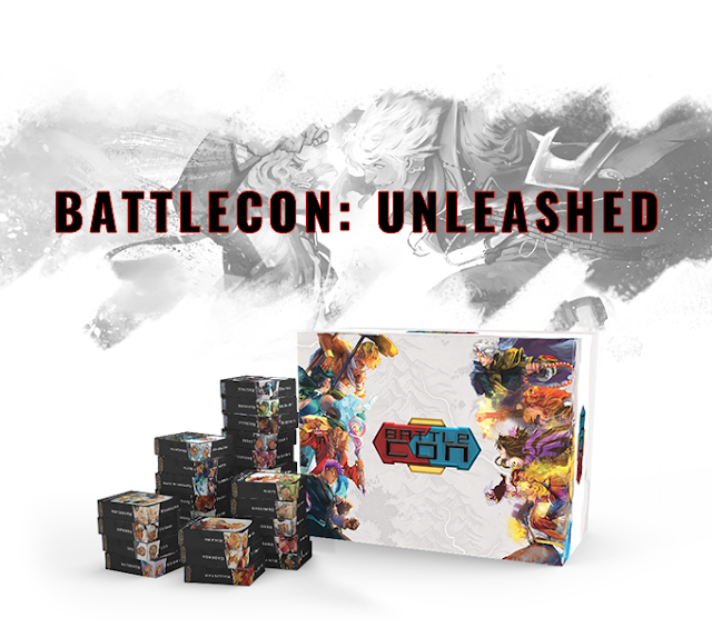 BattleCON Unleashed Level 99 Games Kickstarter