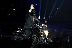 Ditanya Soal Siapa yang 'Terbangkan' Moge di Asian Games? Ini Jawaban Jokowi