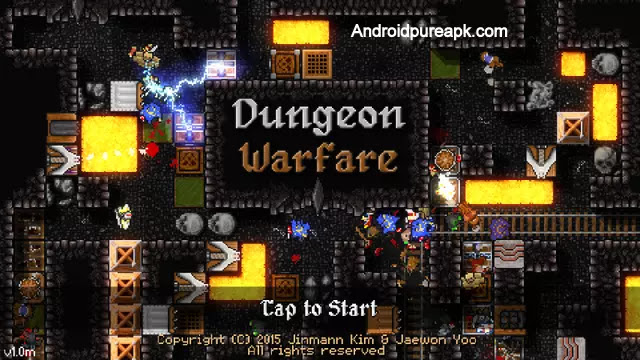 Dungeon Warfare Apk download Mod+Hack