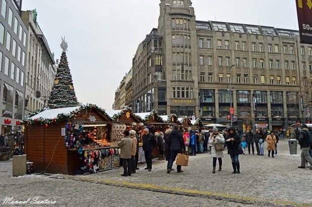 Praga, Mercatini di Natale