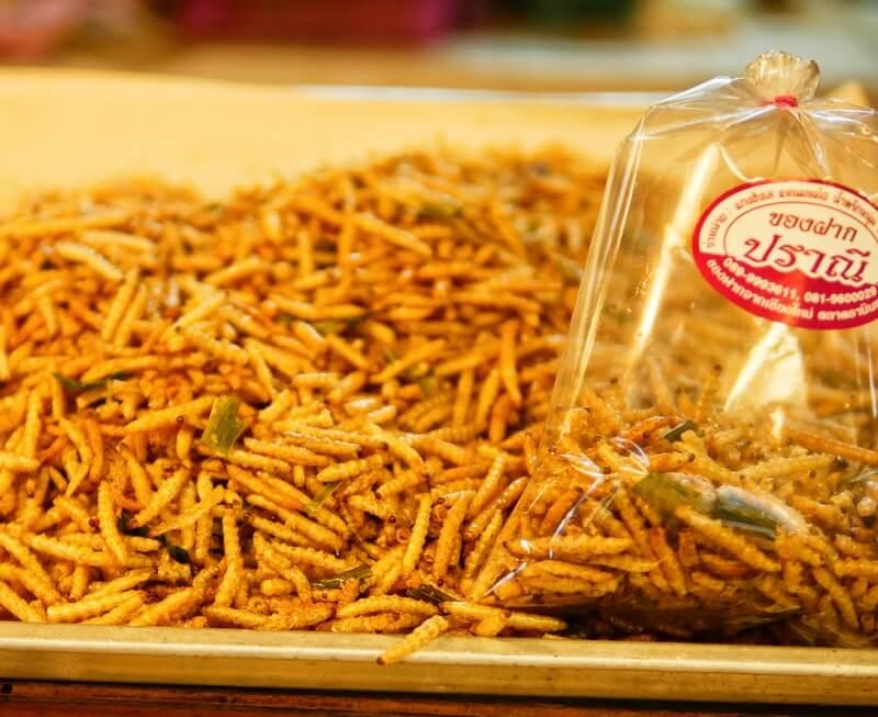 edible bugs Thailand