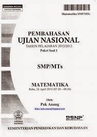 Download Soal Latihan Ujian Sekolah Us Matematika Smp Dan Pembahasan Serba Serbi Guru Serba Serbi Guru