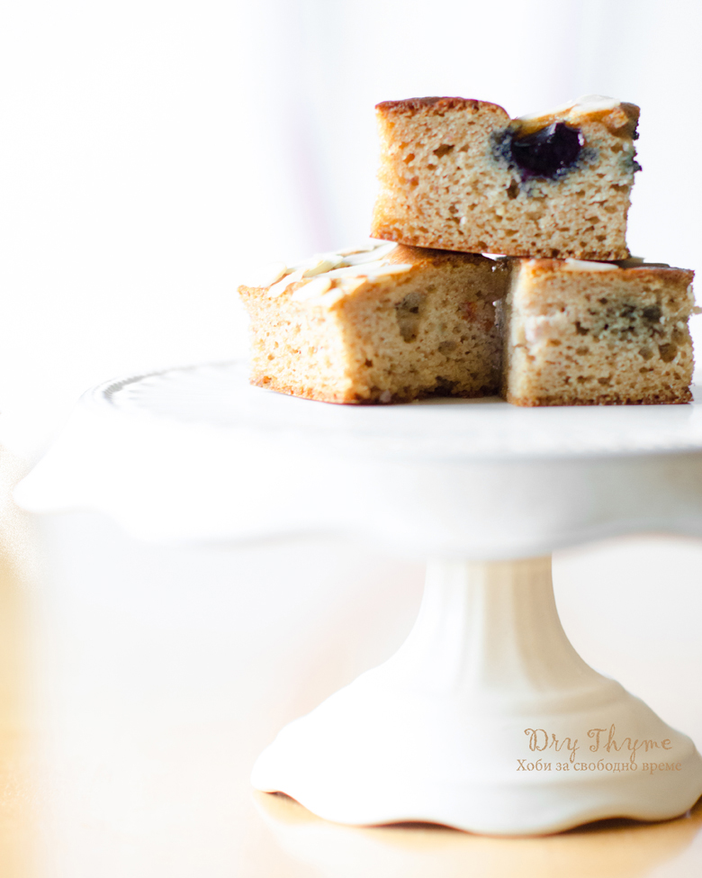 Безглутенов кекс с бадемово брашно