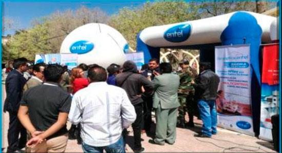Fibra óptica de Entel llega a Tupiza, Uyuni y Villazón con agresiva oferta de servicios