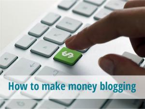 Menghasilkan Uang Melalui Blog