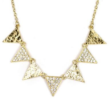 Jeweliq pave triangles strand: $22
