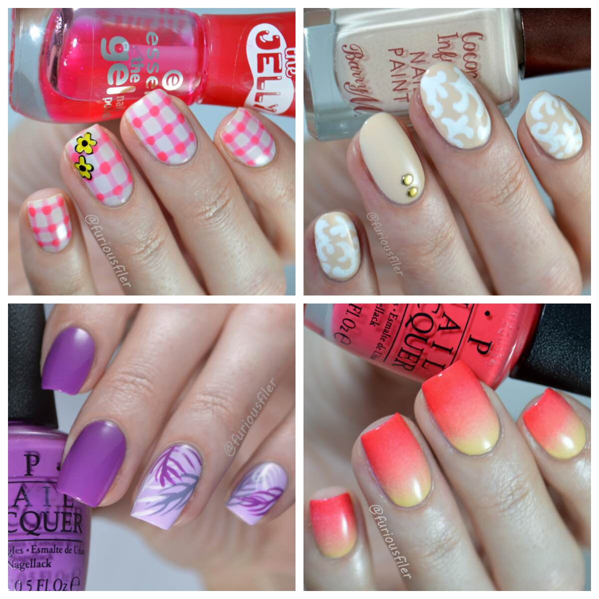 VIDEO Nail Art Tutorials for Nail Spec - FURIOUS FILER
