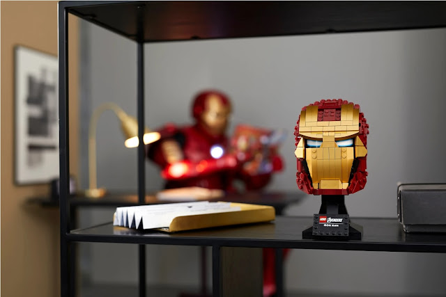 LEGO 76165 Iron Man Bust