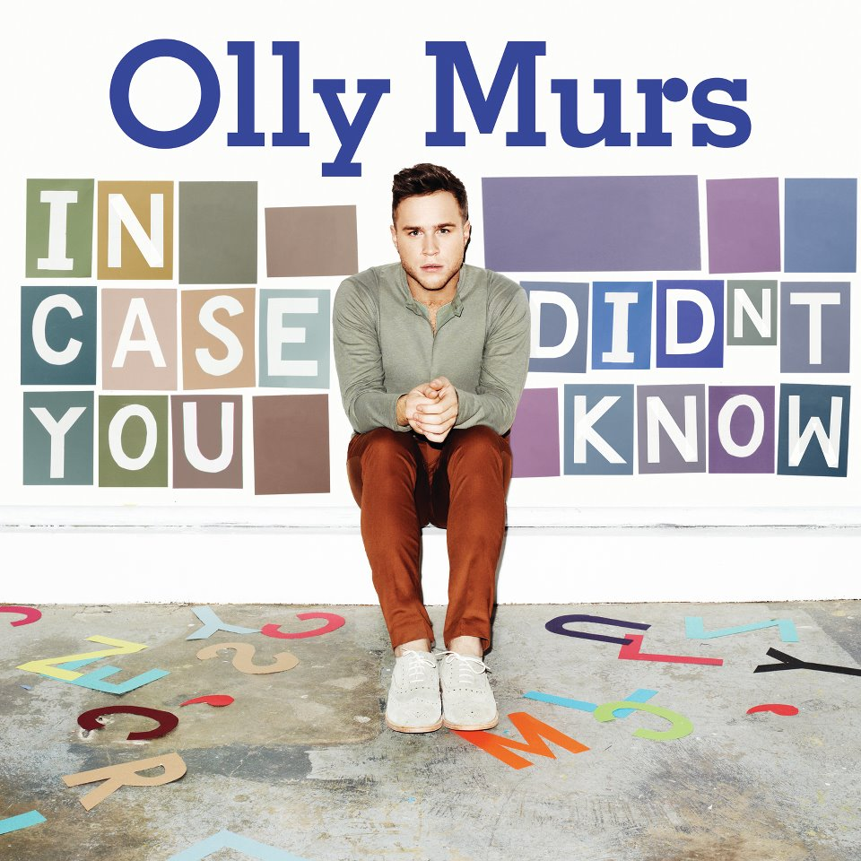 247 Olly Murs  In Case You Didn't Know  Album Cover