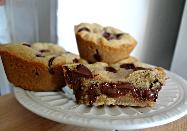 Brown Butter Chocolate Chip Cookie Cups