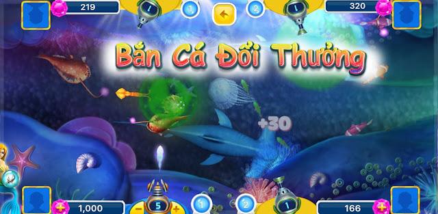 Chơi Bắn Cá Tiên Ăn Xu cực HOT - Bắn Cá Đổi Thẻ Cào 2017