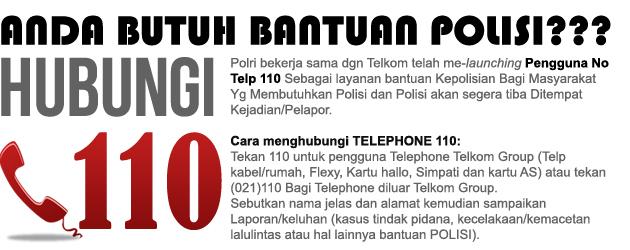nomor telepon polisi bandung