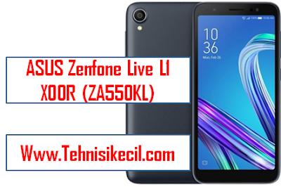 Cara Hard Reset ASUS/Factory Reset ASUS Zenfone Live L1 (ZA550KL) Dengan Mudah Tested 100% Work
