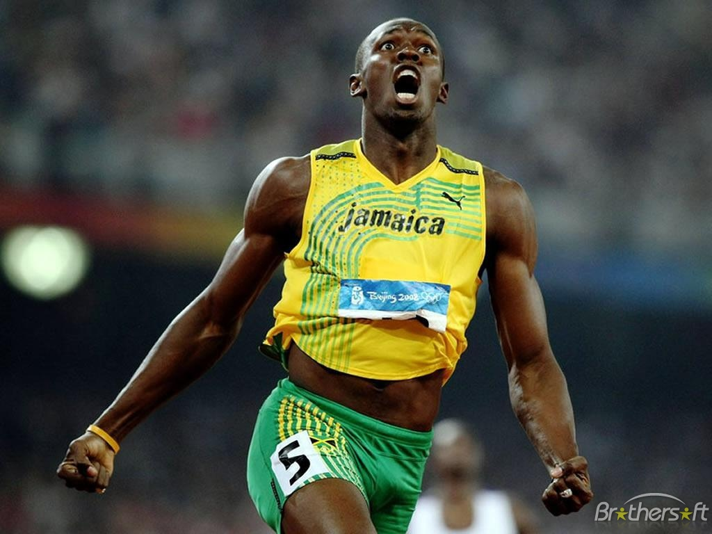 Celebrity shocking: Usain Bolt