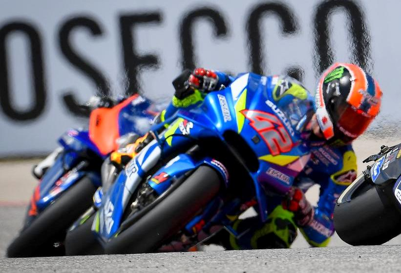 Hasil Race MotoGP COTA 2019 : Marquez ndlosor, Alex Rins naik podium !