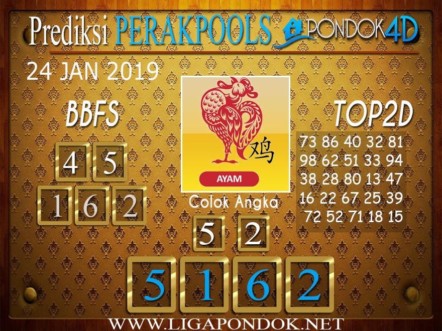 Prediksi Togel PERAK PONDOK4D 24 JANUARI 2019