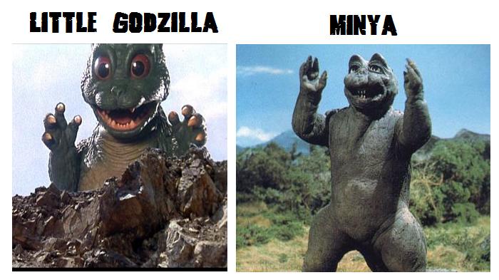 The Rave Corner: Bandai: Little Godzilla Figure 1994 Review