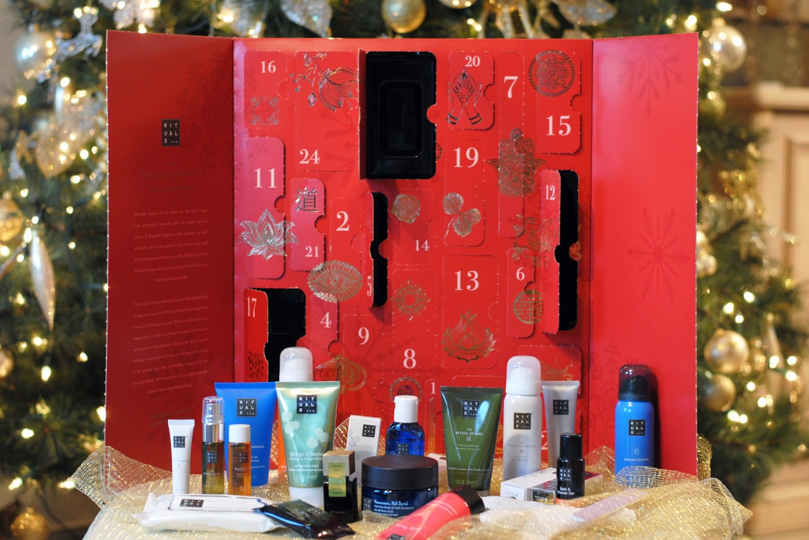 Adventskalender Rituals I Am A Fashioneer Rituals Advent Calendar 2016