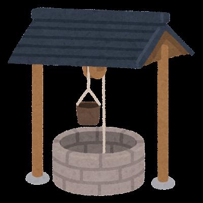 車井戸のイラスト